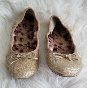 5230d50f02418 Sam Edelman Shoes - GIRLS Sam Edelman Glitter Slip Ons size 1 1 2